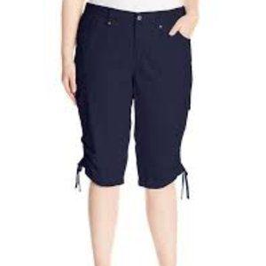 Gloria Vanderbilt Women's Lana Cargo Skimmer Pant